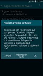 Samsung G850F Galaxy Alpha - Software - Installazione degli aggiornamenti software - Fase 8