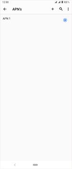 Sony Xperia 1 - Internet - handmatig instellen - Stap 12