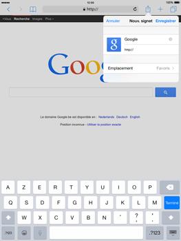 Apple iPad 2 iOS 8 - Internet - Navigation sur Internet - Étape 6