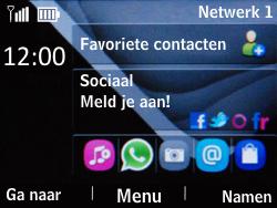 Nokia Asha 201 - netwerk en bereik - gebruik in binnen- en buitenland - stap 9