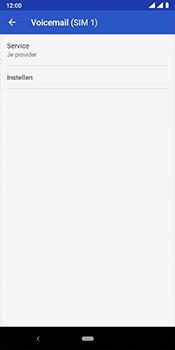 Nokia 3.1 Plus - Android Pie - voicemail - handmatig instellen - stap 9