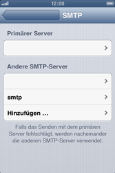 Apple iPhone 3GS - E-Mail - Manuelle Konfiguration - Schritt 15