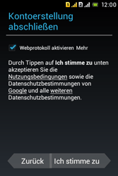 Sony Xperia Tipo Dual - Apps - Konto anlegen und einrichten - Schritt 22