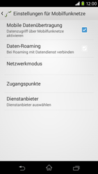 Sony Xperia M2 - Ausland - Auslandskosten vermeiden - 2 / 2