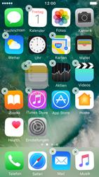 Apple iPhone 5s iOS 10 - Startanleitung - Personalisieren der Startseite - Schritt 4