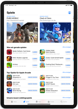 Apple iPad mini (2019) - iPadOS 13 - Apps - Installieren von Apps - Schritt 6