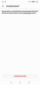 Huawei P20 Lite - Fehlerbehebung - Handy zurücksetzen - 10 / 11