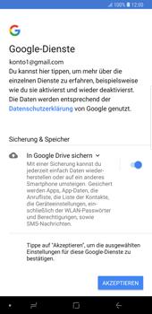 Samsung Galaxy Note9 - Apps - Konto anlegen und einrichten - Schritt 20