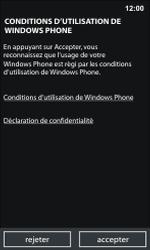 Nokia Lumia 800 - Premiers pas - Créer un compte - Étape 4