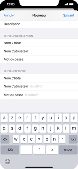 Apple iPhone XS Max - iOS 13 - E-mail - Configuration manuelle - Étape 15