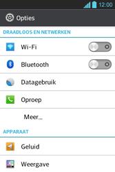 LG E610 Optimus L5 - Internet - aan- of uitzetten - Stap 4