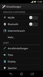Sony Xperia L - WLAN - Manuelle Konfiguration - Schritt 4