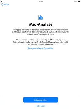 Apple iPad Air - iOS 11 - Persönliche Einstellungen von einem alten iPhone übertragen - 21 / 27