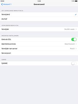 Apple iPad mini 4 iOS 10 - E-mail - e-mail instellen: POP3 - Stap 23