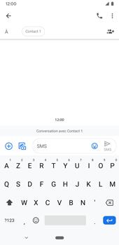 Google Pixel 3a - Contact, Appels, SMS/MMS - Envoyer un SMS - Étape 7