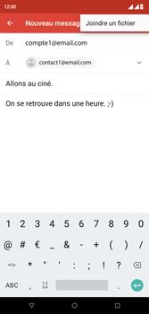 Wiko View 2 Plus - E-mail - envoyer un e-mail - Étape 9