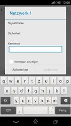 Sony Xperia E4G - WLAN - Manuelle Konfiguration - 7 / 9