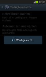 Samsung Galaxy S III Mini - Netzwerk - Manuelle Netzwerkwahl - Schritt 8