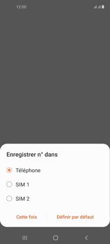 Samsung Galaxy A21s - Contact, Appels, SMS/MMS - Ajouter un contact - Étape 6