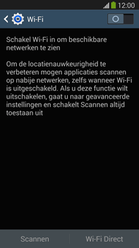 Samsung N9005 Galaxy Note III LTE - WiFi - Handmatig instellen - Stap 5