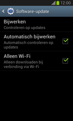 Samsung I8260 Galaxy Core - Software update - update installeren zonder PC - Stap 5