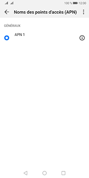 Huawei Mate 10 Pro Android Pie - Internet - Configuration manuelle - Étape 7