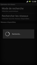 Sony Xperia J - Réseau - Sélection manuelle du réseau - Étape 7