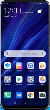 Huawei P30 Pro - Téléphone mobile - Comment effectuer une réinitialisation logicielle - Étape 2