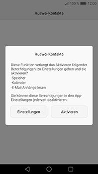Huawei P9 Plus - Anrufe - Rufumleitungen setzen und löschen - Schritt 3