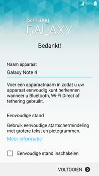 Samsung Galaxy Note 4 (N910F) - Toestel - Toestel activeren - Stap 28