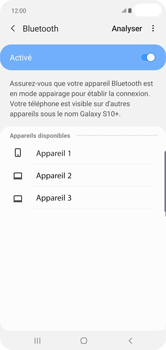 Samsung Galaxy S10 Plus - Bluetooth - Jumelage d