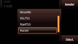Nokia N97 Mini - E-mail - Configuration manuelle - Étape 17