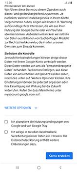 Samsung Galaxy A70 - Apps - Einrichten des App Stores - Schritt 15
