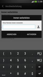 HTC One Mini - Anrufe - Rufumleitungen setzen und löschen - Schritt 7