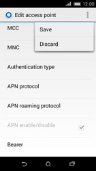 HTC Desire 320 - MMS - Manual configuration - Step 14