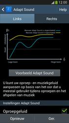Samsung I9505 Galaxy S IV LTE - Adapt Sound - Adapt Sound instellen - Stap 9