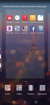 Huawei P20 - Operazioni iniziali - Installazione di widget e applicazioni nella schermata iniziale - Fase 5