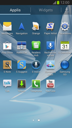 Samsung Galaxy Note II - Internet et roaming de données - Configuration manuelle - Étape 3