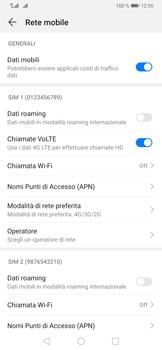 Huawei P30 Pro - Rete - Come attivare la connessione di rete 4G - Fase 7
