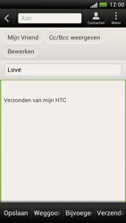 HTC Z520e One S - E-mail - Hoe te versturen - Stap 8