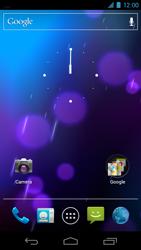 Samsung I9250 Galaxy Nexus - Internet - Voorbeelden van mobiele sites - Stap 1