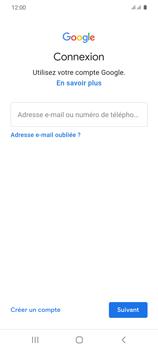 Samsung Galaxy S20 - Applications - Créer un compte - Étape 5