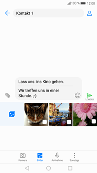 Huawei Mate 9 - MMS - Erstellen und senden - 0 / 0