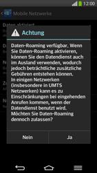 LG G Flex - Ausland - Im Ausland surfen – Datenroaming - 2 / 2
