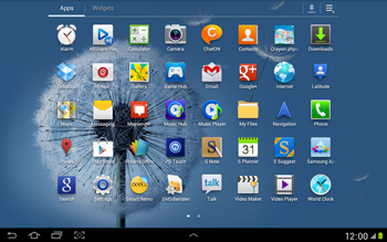 Samsung N8000 Galaxy Note 10-1 - SMS - Manual configuration - Step 3
