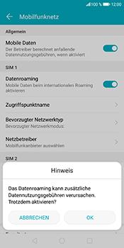 Huawei Honor 9 Lite - Ausland - Im Ausland surfen – Datenroaming - 9 / 12