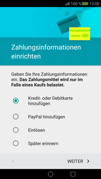 Huawei Mate S - Apps - Konto anlegen und einrichten - Schritt 17
