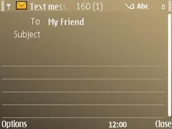 Nokia E72 - MMS - Sending pictures - Step 8