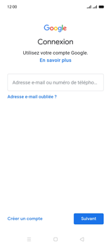 Oppo A15 - Applications - Créer un compte - Étape 5