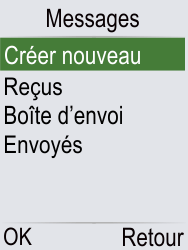Doro Phone Easy 621 - Contact, Appels, SMS/MMS - Envoyer un SMS - Étape 4